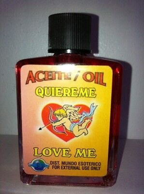 MYSTICAL / SPIRITUAL OIL (ACEITE) FOR SPELLS & ANOINTING 1/2 OZ LOVE ME