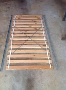 Single bed timber slats and side frames Grays Point Sutherland Area Preview