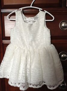 Toddler White Dress (Brand New)