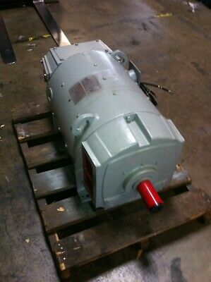 Ge Dc Motor 100 Hp 500v 11502000 Rpm