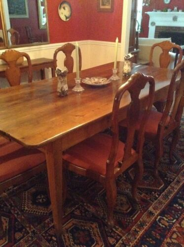 Antique French Farm Table  for Dining