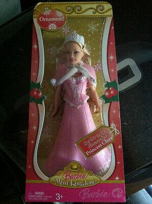 Barbie Nutcracker Princess Clara Doll Ornament Mini Kingdom 2007 NEW BNIB