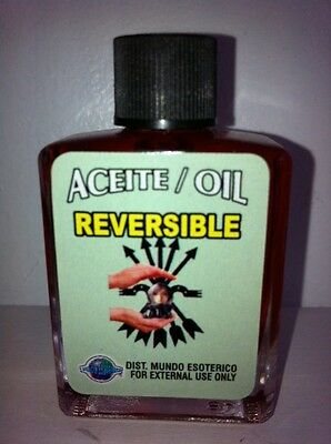 MYSTICAL / SPIRITUAL OIL (ACEITE) FOR SPELLS & ANOINTING 1/2 OZ REVERSIBLE