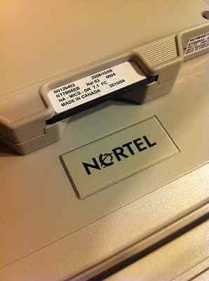 Nortel Norstar Mics Modular Ics 7.1 Software Card Ntbb08 Rls 02 Nvram Sleeve