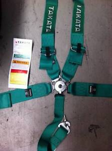 NEW Takata 5-Point Harness Welshpool Canning Area Preview