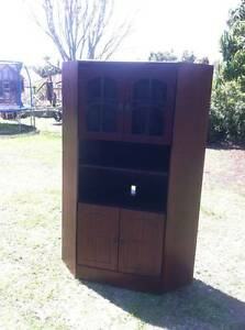 All purpose timber veneer wall cabinet Kedron Brisbane North East Preview
