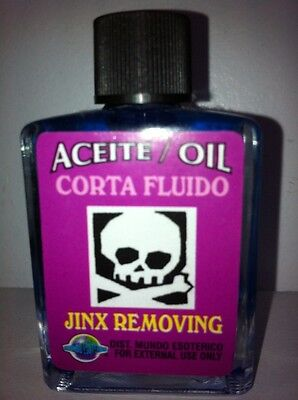 MYSTICAL / SPIRITUAL OIL (ACEITE) FOR SPELLS & ANOINTING 1/2 OZ JINX REMOVING