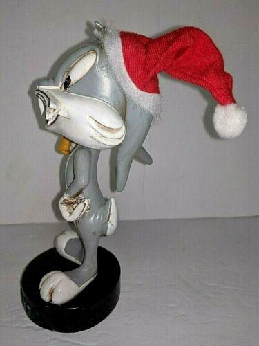 Warner Bros Vintage Bugs Bunny Nodder Holiday Christmas Bobble Head