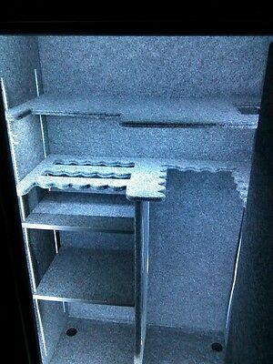 LED Gun Safe Light, 29-47''Wide Safe, Battery Box, Auto on/off.