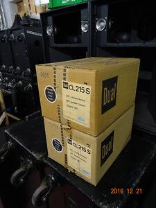 2 Dual 215 S Hifi-Lautsprecherboxen 30 Watt - Vintage - OVP