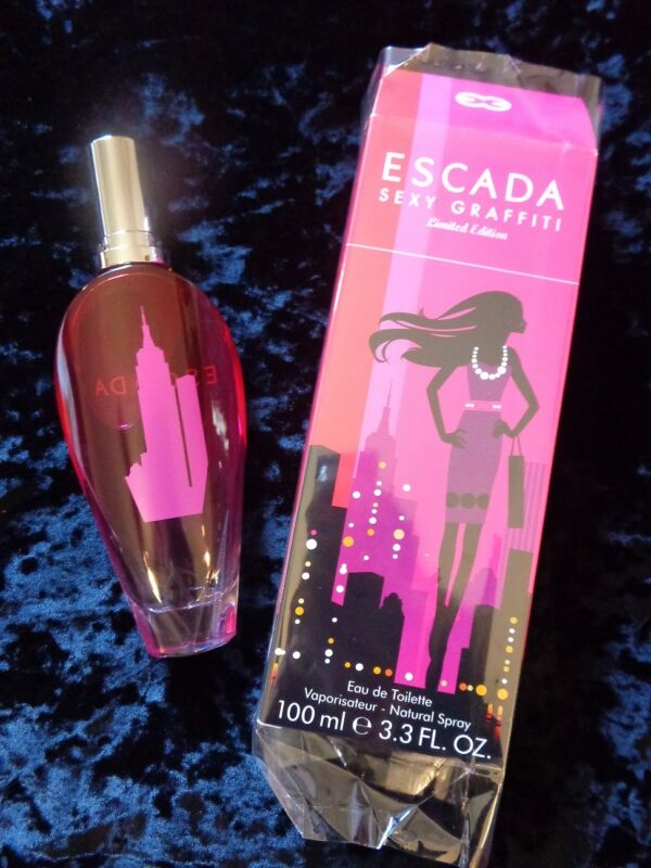 ***NIB ESCADA SEXY GRAFFITI LIMITED EDITION 3.3 OZ EDT + FREE Priority shipping*