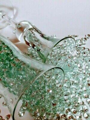 200 PCS Mint Color Diamond Shape Vase Filler. Size 8 mm  200+ Pcs Diamond