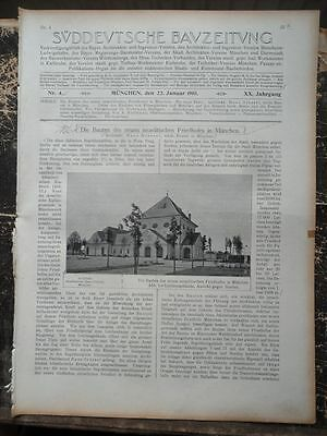 1910 Juden israelitischer Friedhof in München