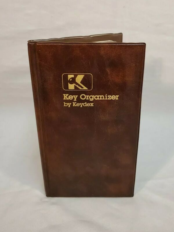 Vintage Key Organizer By Keydex Pocket Folder System RARE