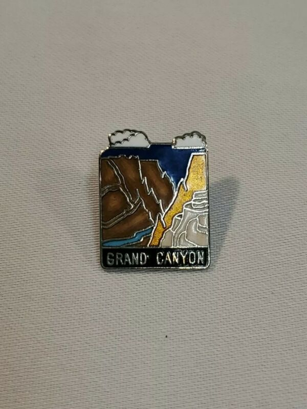 Vintage Grand Canyon Travel Souvenir Enamel Lapel Pin