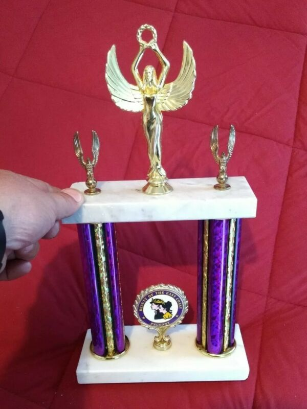 "Collectible Girls Beauty Pageant Trophy- ""The Beauty of the East Coast""-  Crown"