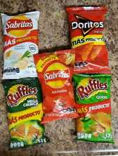 Papitas Sabritas Mexican Chips PACK OF 5 (45g To 61
