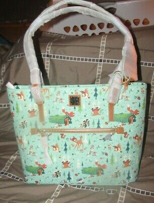NEW Disney Dooney and Bourke Tote Bambi and Friends NWT