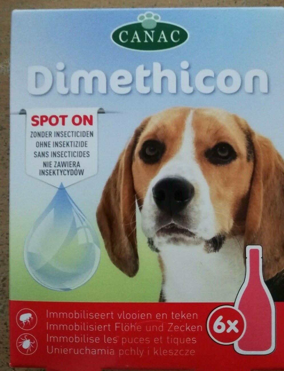 DIMETHICON Pipetten Anti Zecken und Anti Floh für Hund 6 Pipetten Flohmittel