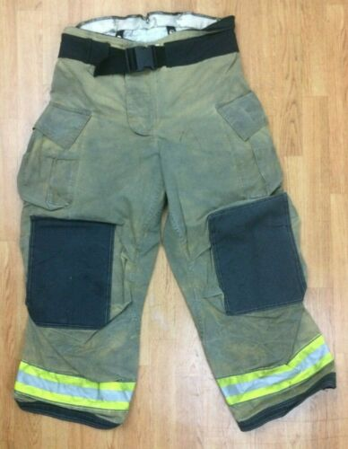 Globe Gxtreme Firefighter Bunker Turnout Pants 38 x 30  2014