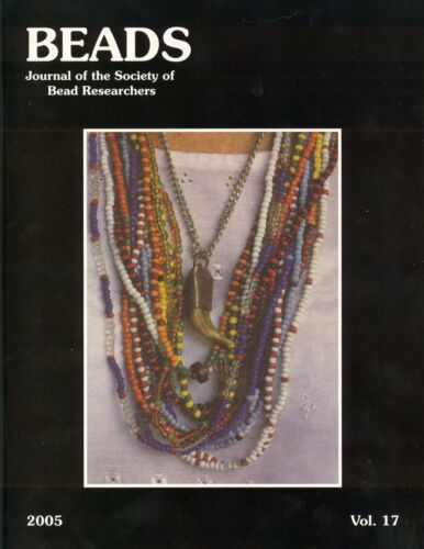 BEADS 17: Santería Necklaces Cuba, Medieval Switzerland, Chemical Analysis