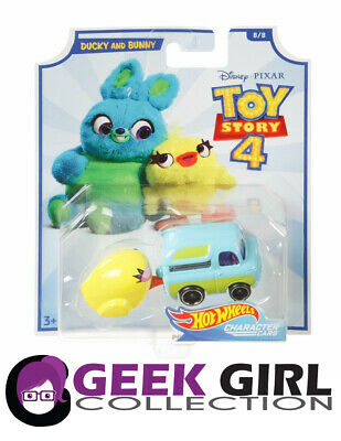 Hot Wheels Toy Story 4 Ducky and Bunny Character Car by Disney and Pixar 8 of 8