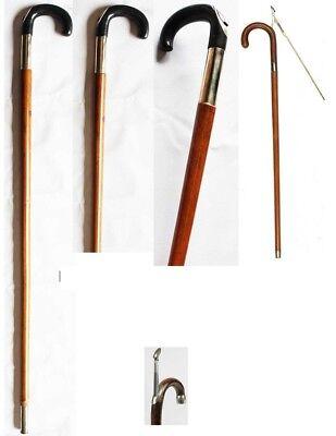 Horse Farrier Tool  Measuring Stick Bamboo Walking Cane Antique Rattan 98480