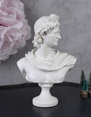 Olympischer Gott Apollon Apollo Büste Antik Skulptur Mythologie Kopf Männerbüste