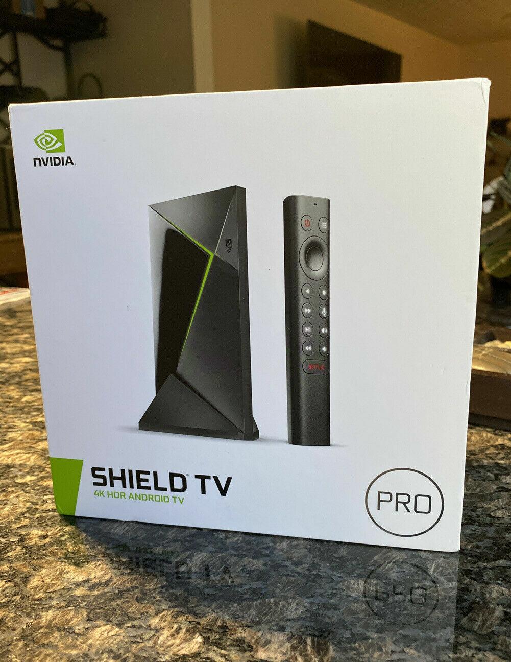 NVIDIA Shield TV Pro 4K HDR Media Streamer **BRAND NEW IN BO