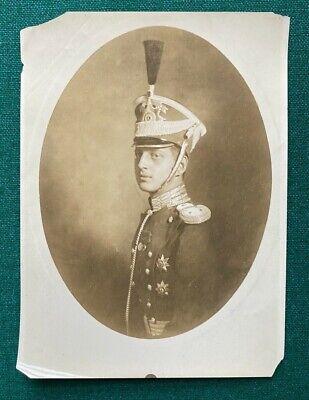 Antique Russian Imperial Photo Grand Duke Dmitri Romanov Grenadier Rasputin