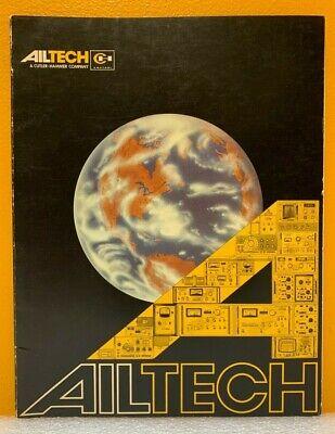 Ailtech A Cutler-hammer Company Instrumentation Catalog.