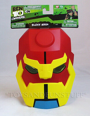 NEW - Ben 10 - BLOXX MASK - Omniverse CARTOON NETWORK Halloween Costume - Ben 10 Omniverse Costumes