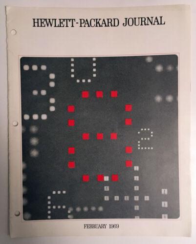Hewlett-Packard Journal February, 1969 Solid State Displays
