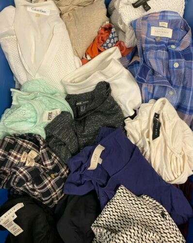 10PC Clothing Reseller Online Selling Lot/Box of Wholesale Clothes