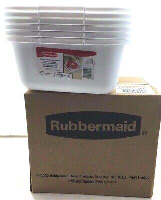 Rubbermaid 11.4 Quart White Plastic Rectangular Dish Pan (Pack Of 6) Rectangular Dish Pan