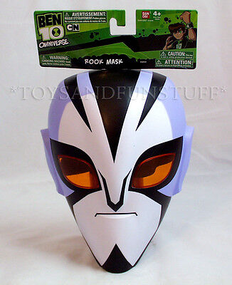 NEW - Ben 10 - ROOK MASK - Omniverse CARTOON NETWORK - Halloween Costume - Ben 10 Omniverse Costumes