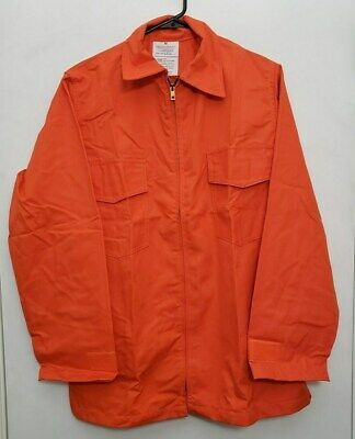 6 Oz Nomex Iiia Wildland Fire Fighting Brush Shirt Barrier Wear 4052 Orange S