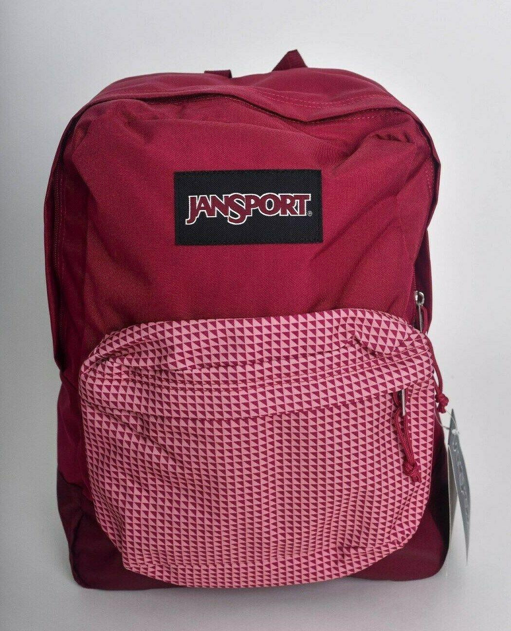 JanSport 25L BLACK LABEL SUPERBREAK Backpack RED COMBO Book