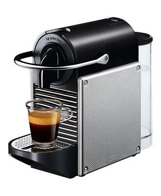 DeLonghi EN125.S Pixie Nespressomaschine  (silber)