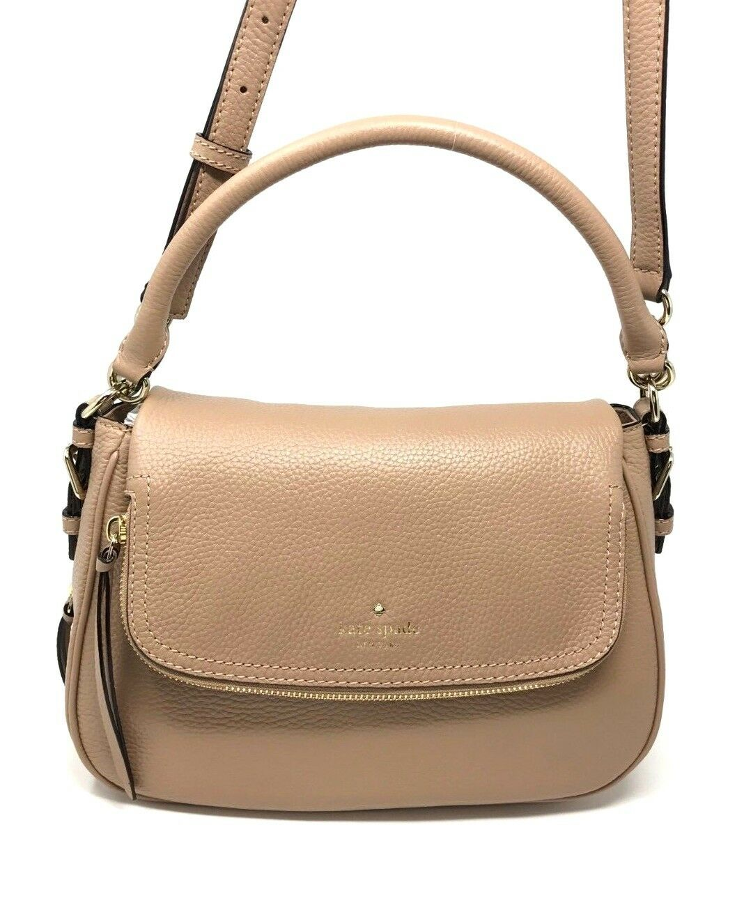 Kate Spade Cobble Hill Deva Hazel Leather Crossbody Bag