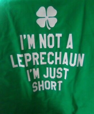 Womens XL St Patricks Day Irish Teashirt ()