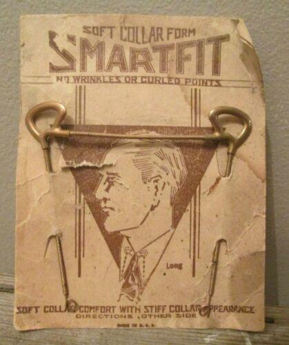 Vintage SmartFit Soft Collar Form Collar Stays No Wrinkles Curls in Collar Point