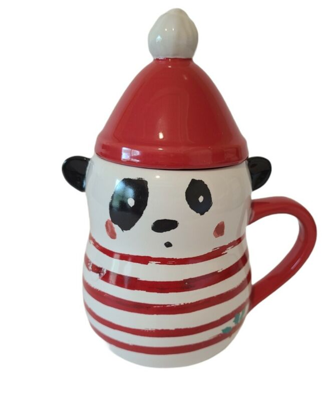 Herbie & Friends Holiday Christmas Travel Mug with Lid