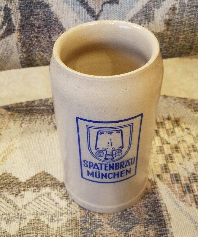 Spatenbrau Munchen 1L Ceramic Beer Stein