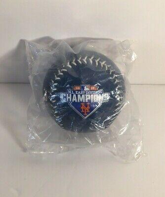NY METS MLB 2015 NATIONAL LEAGUE EAST DIVISION CHAMPIONS BASEBALL SOUVENIR BALL Ny Mets Home Baseball