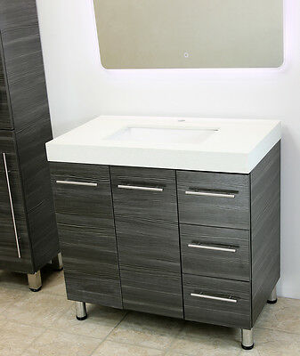 """WindBay 36"""" free standing bathroom vanity sink set. Vanities"""
