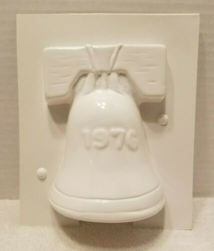 Vintage Craft Plastic Candle Mold Liberty Bell