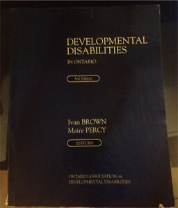 Developmental Disabilities in Ontario (3rd Edition)