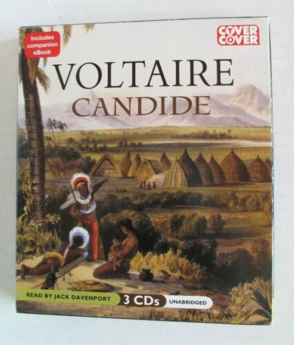 Candide by Voltaire Unabridged CD Audiobook Word Classic