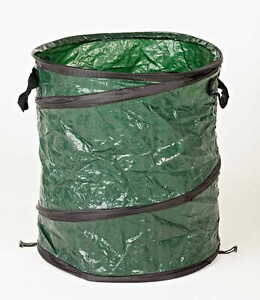 NEW Large Pop-up Garden Waste Bin with FREE Leaves Grabber and Garden Gloves Set